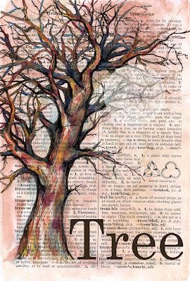 tree on dictionary