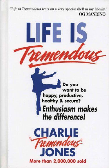 43 best books personal development images on pinterest life life is tremendous by charlie believing that enthusiasm makes the difference charlie shows how anyone little booksbook fandeluxe Image collections