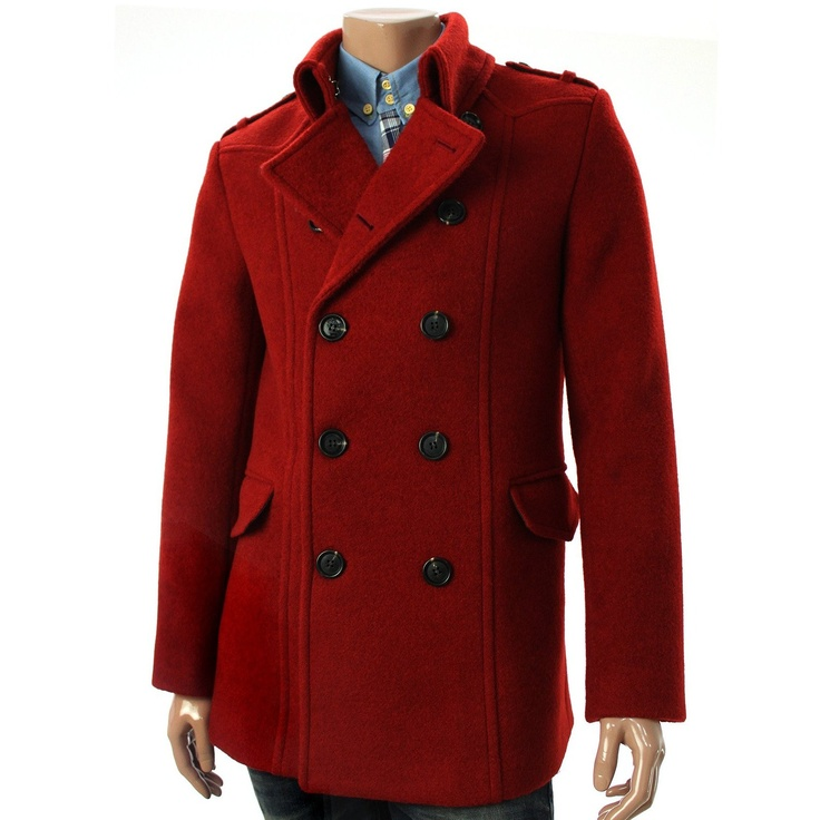 1000  images about Men&39s coats on Pinterest | Wool Duffle coat