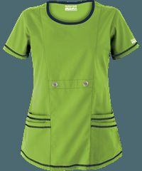 Delantales médicos en colores sólidos, uniformes médicos y de enfermería en Uniform Advantage
