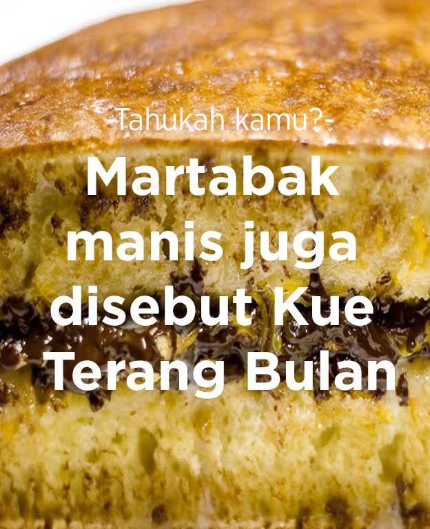 Martabak manis juga disebut 'Kue Terang Bulan'.  #FoodXploration #BerkahBanget