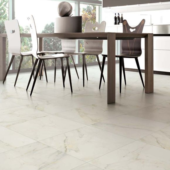 Elegance Calacatta Matt | Elegance allows you to create refined and tasteful settings as it interprets the natural graphics of snow white Calacatta marble.