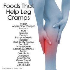 Foods That Help Leg Cramps