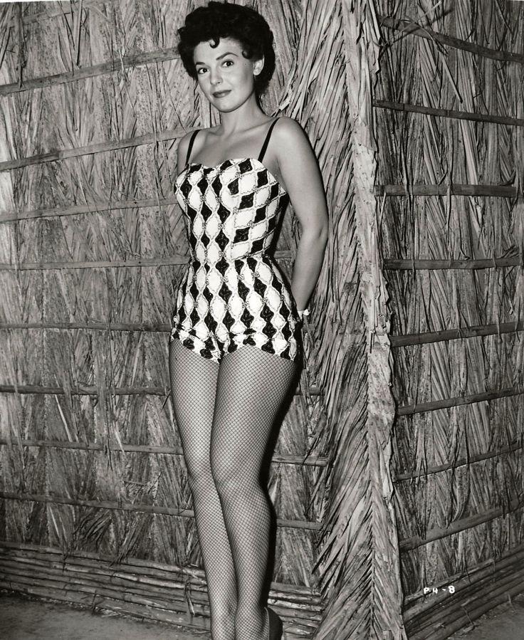 "Anne Bancroft in ""Gorilla at Large"" (1954)"