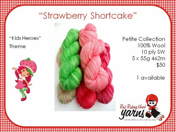 Strawberry Shortcake - Kids Heroes   Red Riding Hood Yarns