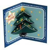 クリスマスクリスマスツリー(青) 無料素材 ダウンロード | ペーパーミュージアム