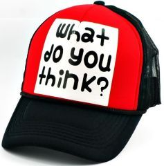 What do you think ? Cap Şapka
