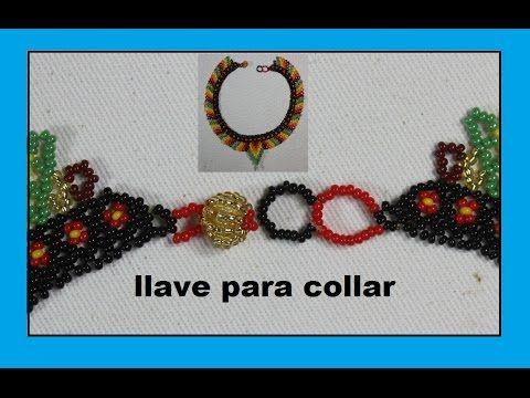 COMO HACER LLAVE PARA COLLAR EN MOSTACILLA - YouTube
