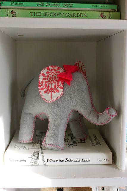 DIY Elephant door stop sewing tutorial