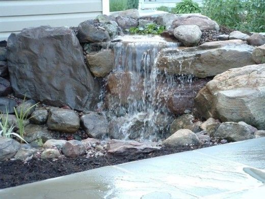 17 best images about ponds and waterfalls on pinterest for Pond waterfall construction