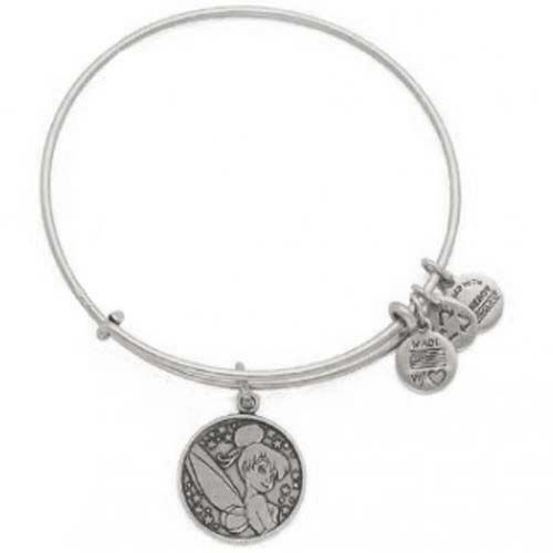Your WDW Store - Disney Alex and Ani Charm Bracelet - Tinker Bell - Silver