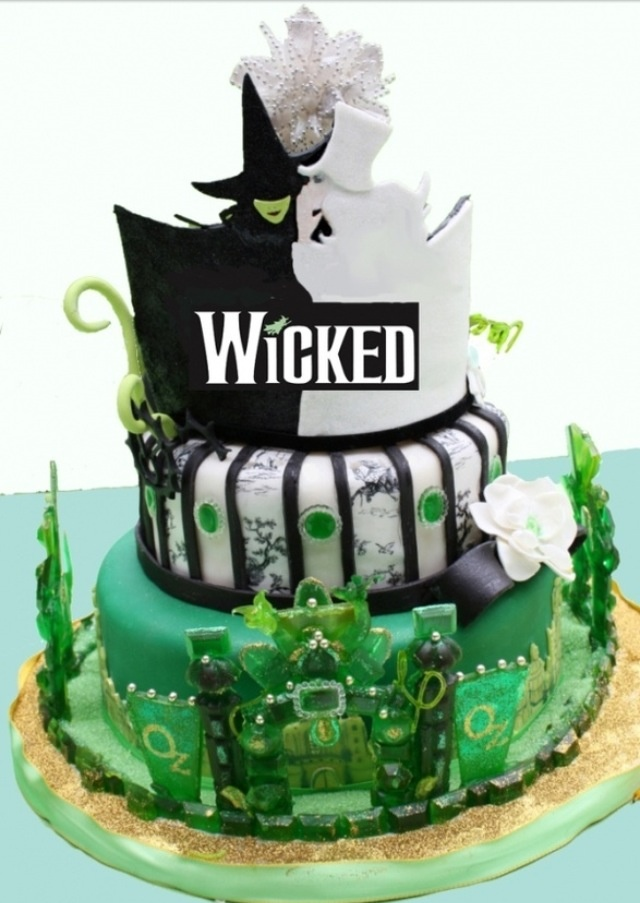 Wicked musical Cake!