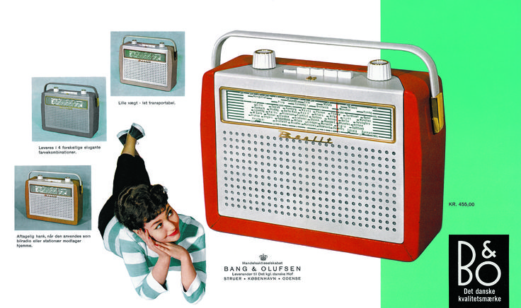 Back to the Fifties with BeoLit AM, the first Bang & Olufsen portable radio!