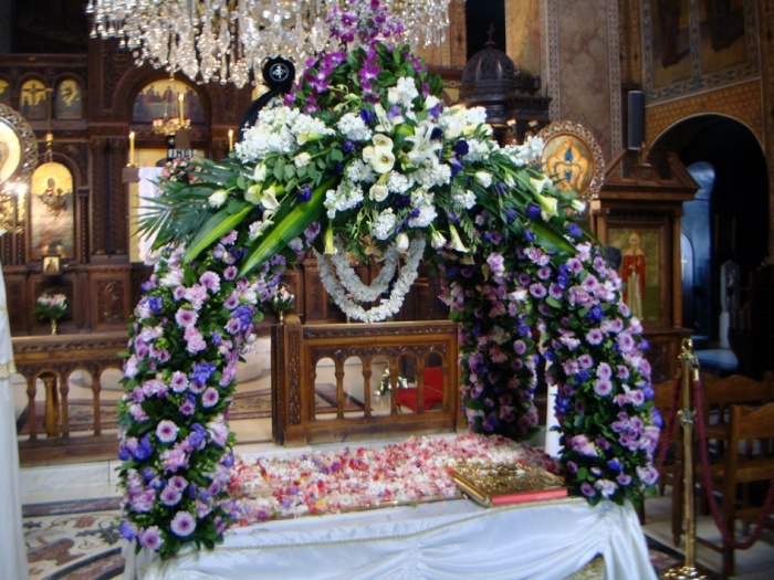Greek Orthodox Good Friday: Christ's coffin ( in memory of His death)