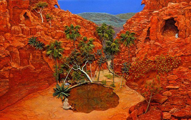 Jeannie Baker - Desert River