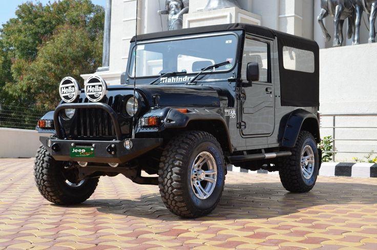 Mahindra Thar modified!!!