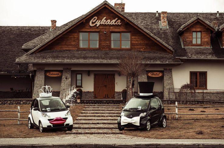 weddingcar smartcar auto do ślubu wesele plener marry married wedding  www.smart-line.pl