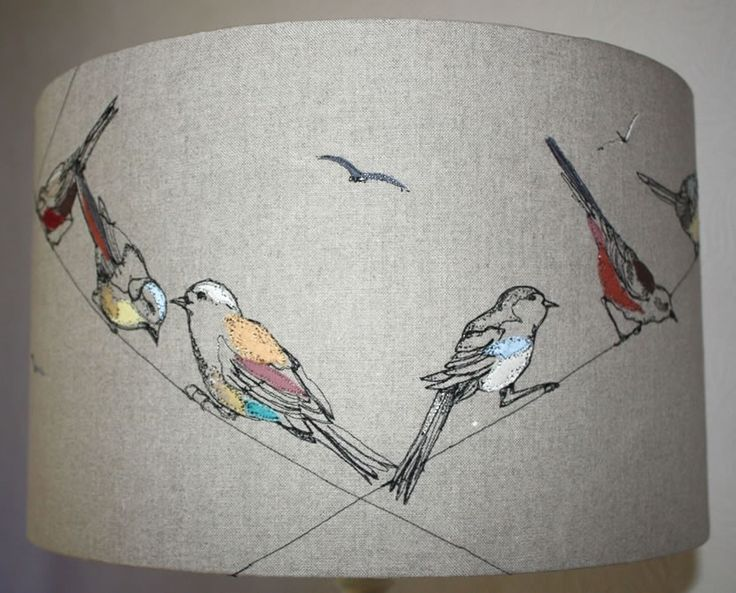 Lara Sparks Embroidery - Embroidered Lampshades
