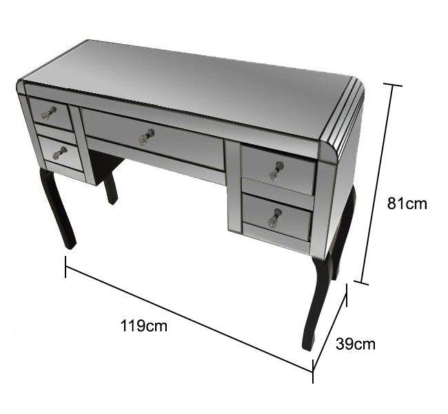smoked mirrored furniture. bevelled mirrored dresser in smoked furniture