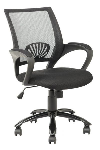 New Mid Back Mesh Ergonomic puter Desk fice Chair Black e Pack Trending - Review best ergonomic office chair In 2018