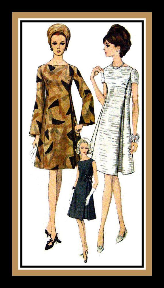 Vintage 1960sELEGANT COCKTAIL DRESS Vogue by FarfallaDesignStudio, $45.00
