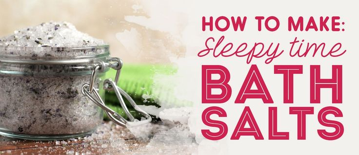 Sleepy time bath salts