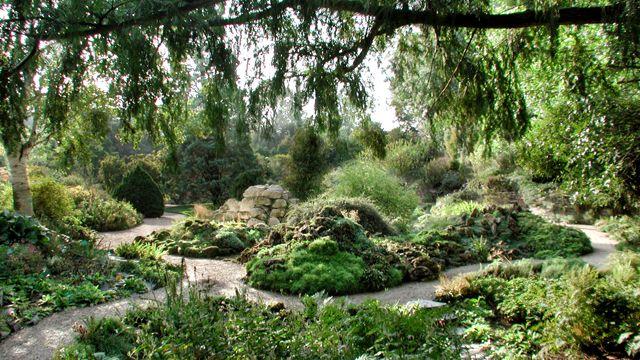 Jardin alpin du Jardin des Plantes à Paris: j'y flane plusieurs fois par an