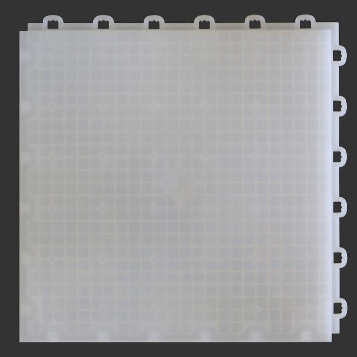 Subfloor Underlayment Interlocking Tile for Basements