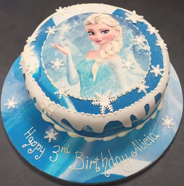 elsa frozen cake frozen disney 2nd birthday birthday cakes cake ideas ...