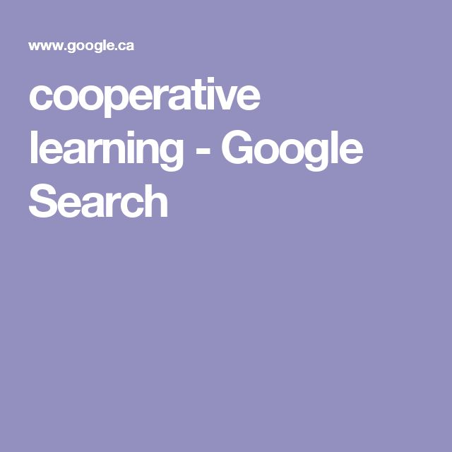 cooperative learning - Google Search