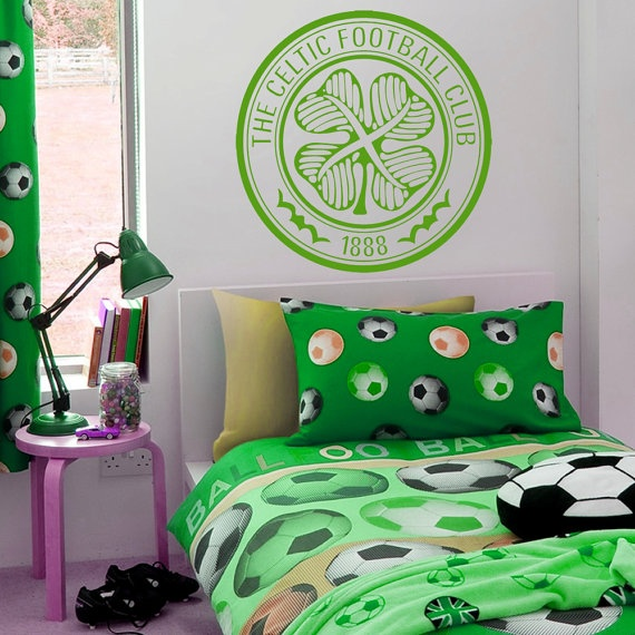 17 best images about football wall stickers decals for Irish bedroom designs