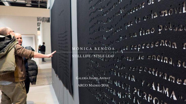 ARCOmadrid 2014, stand Galería Isabel Aninat - Mónica Bengoa: Still Life Style Leaf