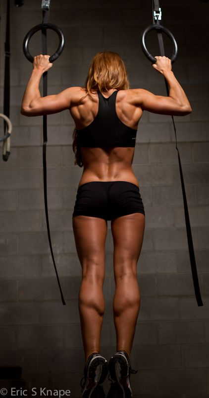 chin up in action, great back shot! #fitness #motivation #workout