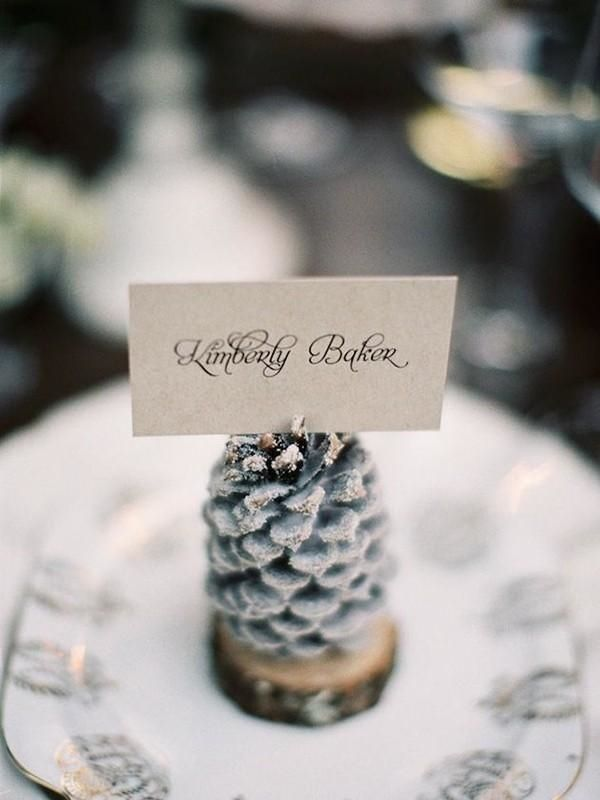 ideas for beach wedding party favors%0A The    Best Winter Wedding Details We u    ve Ever Seen