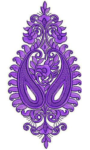 Dress Embroidery Design