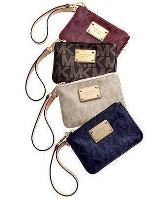 MICHAEL Michael Kors Handbag, Holiday Wristlet - Wallets & Wristlets - Handbags & Accessories - Macy's
