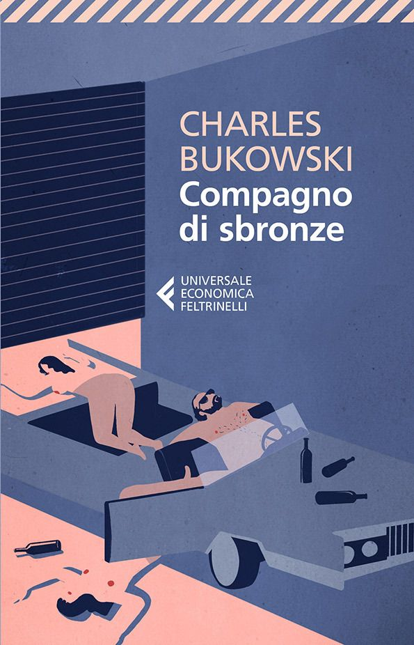 Charles Bukowski Cover by Emilano Ponzi (Erections, Ejaculations, Exhibitions and General Tales of Ordinary Madness)