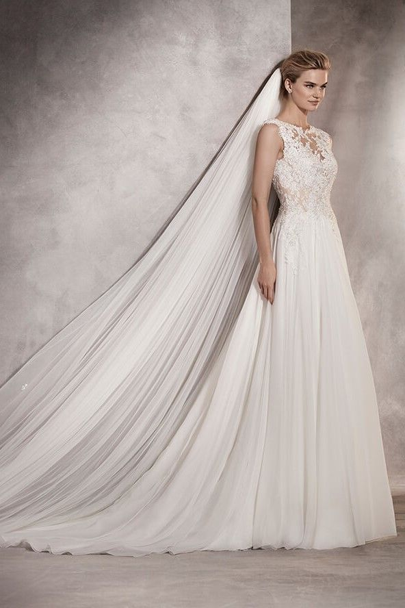 Atlantis by Pronovias from Brides of Winchester #weddinggown