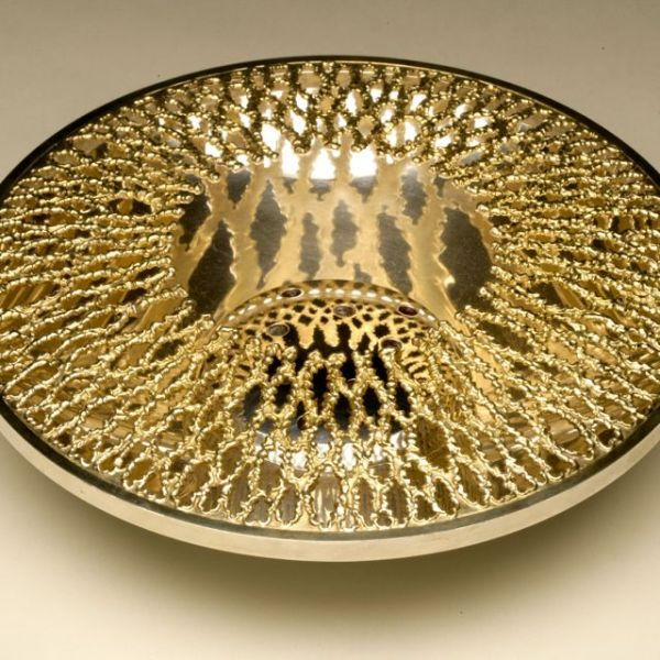 Gallery 925 - Stuart Devlin centerpiece bowl, Handmade Sterling Silver