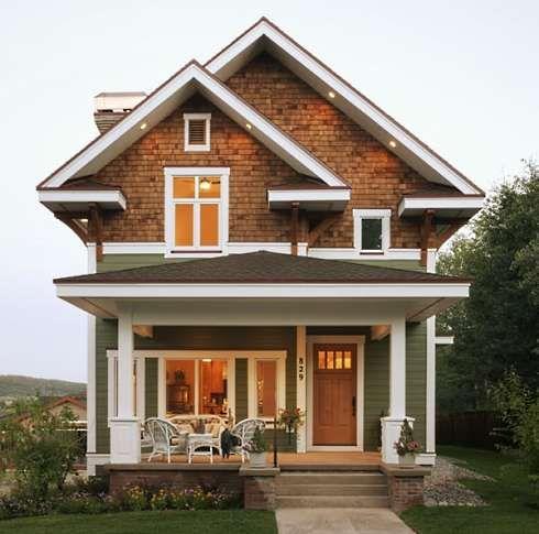 17 best ideas about craftsman cottage on pinterest for Craftsman cottage