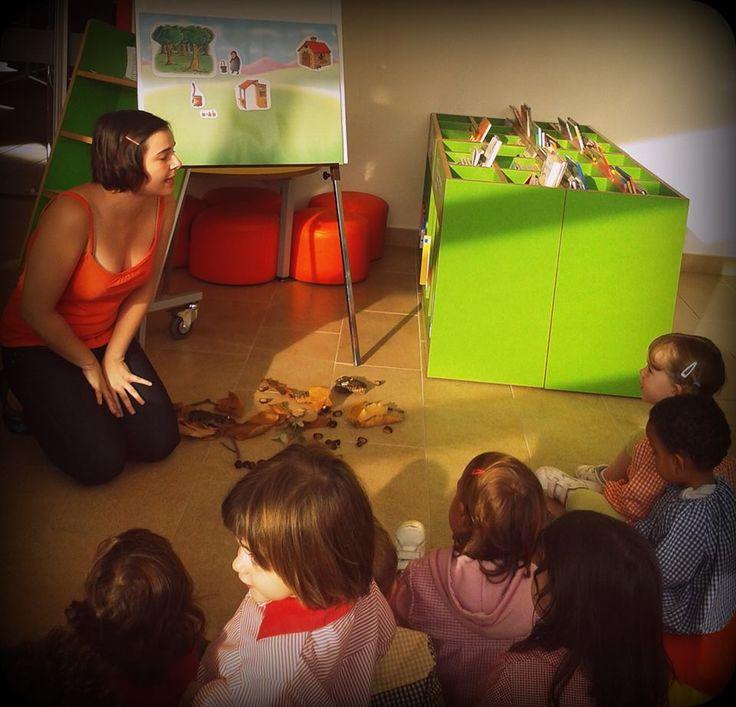 Activitat amb l'Escola Bressol Xauxa