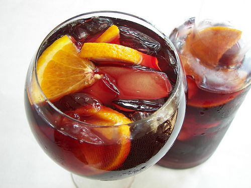 Great Sangria Recipe - from Dali restaurant in Somerville.  YUM.