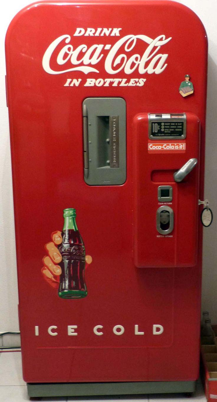 distributeur de boissons coca cola vendo v 39 ann es. Black Bedroom Furniture Sets. Home Design Ideas