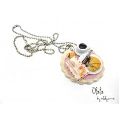 Cumartesi sabahı kolyesi - #tasarim #kolye #tasarimci #moda #tarz #trend #design #designer #fashion #limited #handmade tasarım tasarımcı