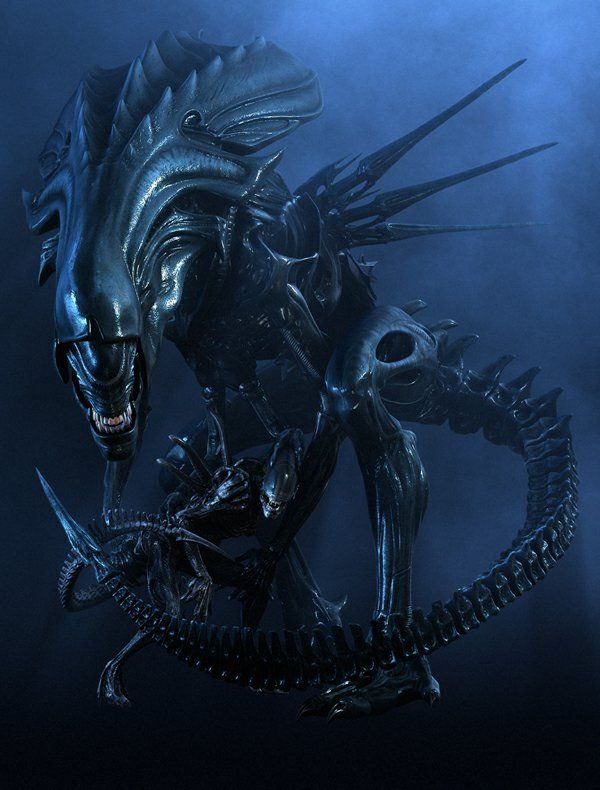 My all time favorite sci-fi movie monster: The queen xenomorph from Aliens!