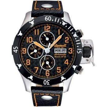 Reloj Ingersoll Bison 12 Crono Cuero Negro Naranja  http://www.tutunca.es/reloj-ingersoll-bison-12-crono-cuero-negro-naranja