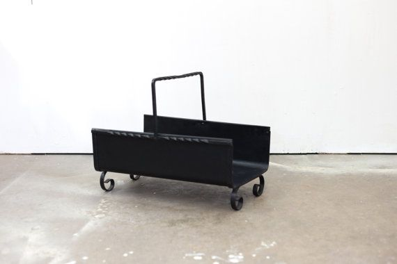 Steel Log Carrier / Hearth