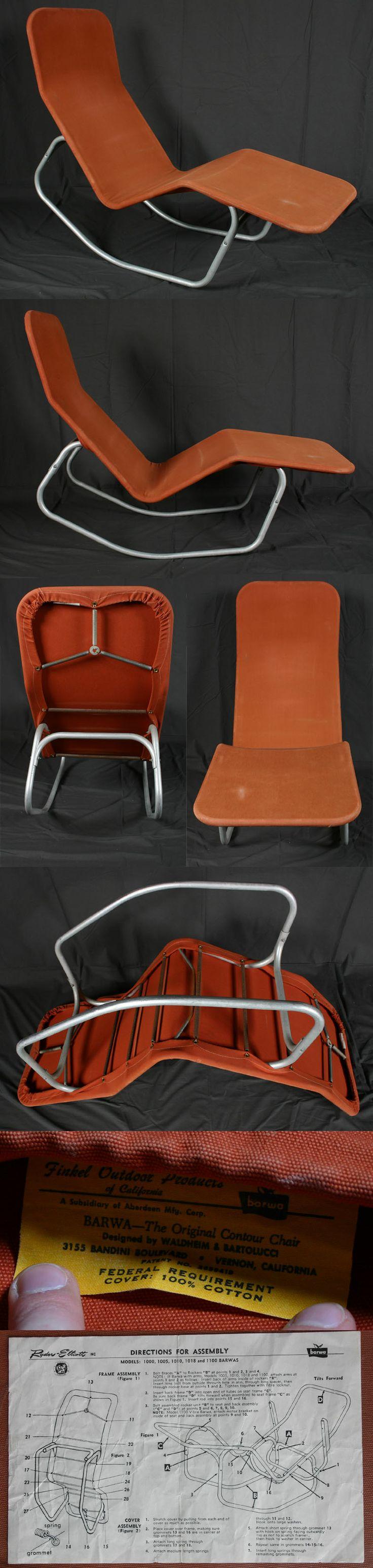 Vintage Barwa Lounge/Contour Chair+instructions | Antique Helper