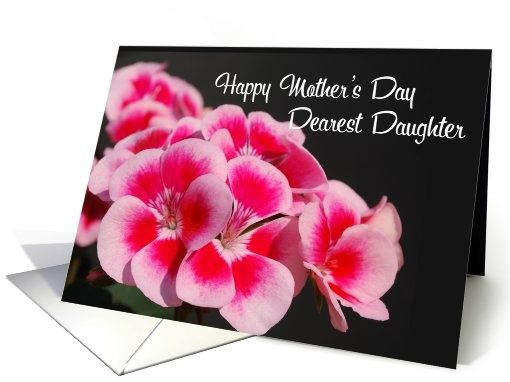 Happy Mothers Day To My Daughter Card My Style Pinterest