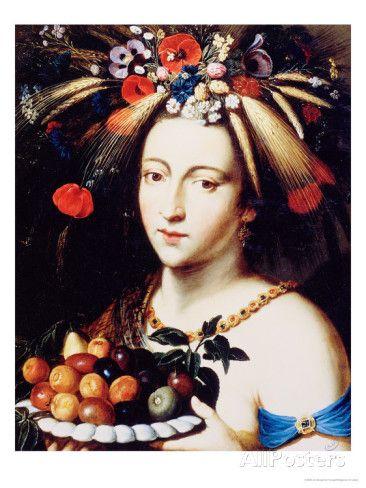 Ceres, Goddess of Abundance, 17th Century  Jan Brueghel the Younger